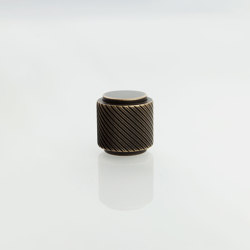 Furniture Handle WCM4 | The Knob Brass bronzed | Cabinet knobs | Craftvoll
