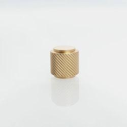 Furniture Handle WCM4   The Knob Brass matt   Cabinet knobs   Craftvoll