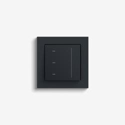 Jalousiesteuerung | System 3000 Touchaufsatz | Anthrazit (mit E2) | Smart Home | Gira