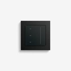 Jalousiesteuerung | System 3000 Touchaufsatz | Schwarz matt (mit E2) | Smart Home | Gira