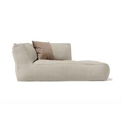 Soft Modular Sofa Dormeuse Left Version | Sun loungers | Atmosphera