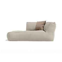 Soft Modular Sofa Dormeuse Right Version | Sun loungers | Atmosphera