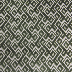 Invicta | Anni Jacquard Velvet 04 Green Linen | Upholstery fabrics | Aldeco