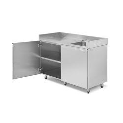 Domestico / outdoor | Composizione domestica CS | Cucine modulari da esterno | AGMA