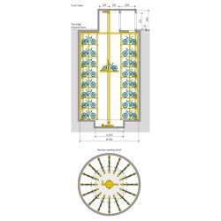 WÖHR Bikesafe   Shaft 8 Levels   Bicycle shelters   Wöhr