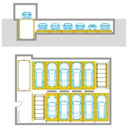Flurparker 570 | Fully automatic parking systems | Wöhr