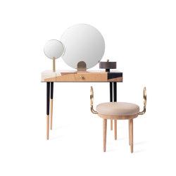 ROSE SELAVY | Vanity Desk and Stool | Marquetry | Schminktische | Maison Dada