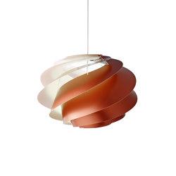 Swirl SWIRL 1 Copper   Suspended lights   LE KLINT