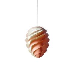 Swirl SWIRL 2 S Copper   Suspended lights   LE KLINT