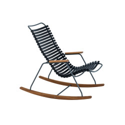 CLICK | Kids Rocking Chair Black | Kids armchairs / sofas | HOUE
