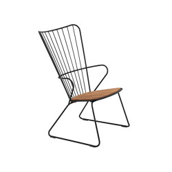 PAON | Lounge Chair Black | Sillones | HOUE