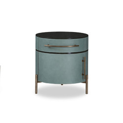 PLISSE' Night table   Night stands   Baxter
