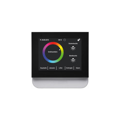 Berker Touch Control - Raumbediengerät und Temperaturregler in einem | Smart Home | Hager