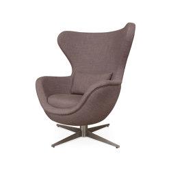 Ida | L Steel Base Armchair | Armchairs | Hamilton Conte