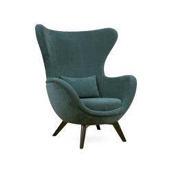 Ida | L Wood Base Armchair | Armchairs | Hamilton Conte