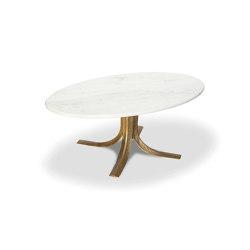 Talos | Oval Gilded Cast Aluminium Cokctail Table | Coffee tables | Hamilton Conte