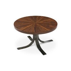 Talos | Round Imbuia Cocktail Table | Coffee tables | Hamilton Conte