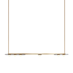 Modulo pendant horizontal | Suspended lights | CTO Lighting
