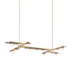 Modulo chandelier grid 11 | Suspended lights | CTO Lighting