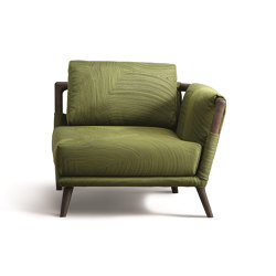 Gaudì corner armchair | Sessel | Flou