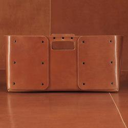 independent isto leather basket | Storage boxes | Skram