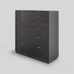 lineground 12-drawer vertical bureau | Credenze | Skram