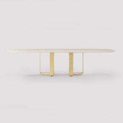 piedmont pedestal table | Esstische | Skram