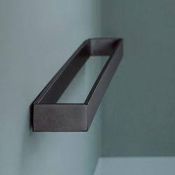 Accessories and furnishings rectangular towel rail   Towel rails   Ceramica Cielo