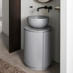 Arcadia Tiberino washbasin on cabinet   Vanity units   Ceramica Cielo