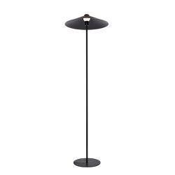 Bonnett Floorlamp Black   Free-standing lights   PUIK