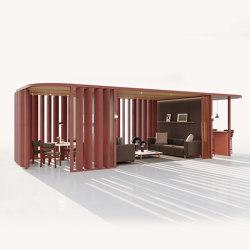 Pavilion O Hub | Curved | Gazebos | KETTAL