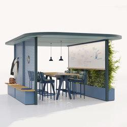 Pavilion O Hub | Open | Gazebos | KETTAL