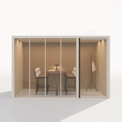 Acoustic Pavilions | Meeting Room 2/4 people | Soundproofing room-in-room systems | KETTAL