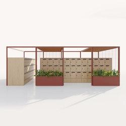 Pavilion O | Support Lockers | Gazebos | KETTAL