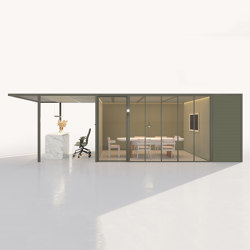 Pavilion O | Support with Meeting and Printing Area | Gazebos | KETTAL