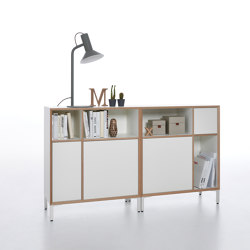 Vertiko with metal base | Cabinets | Müller small living