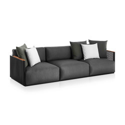 Bosc 3-Seat Sofa | Sofas | GANDIABLASCO