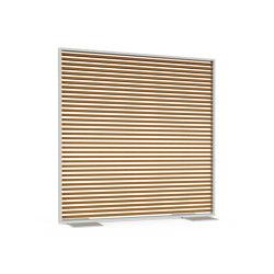 Partition Wall DNA Faux Wood Aluminium | Screening panels | GANDIABLASCO