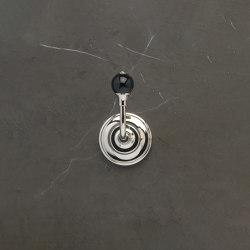 Vienna Single Robe Hook Black | Towel rails | Aquadomo