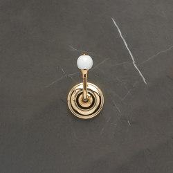 Vienna Single Robe Hook White | Towel rails | Aquadomo