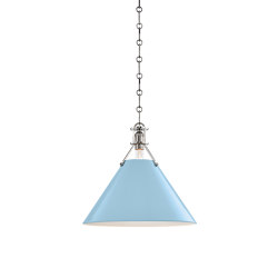 Painted No.2 Pendant | Lampade sospensione | Hudson Valley Lighting