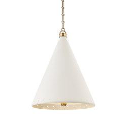 Plaster No.1 Pendant | Suspended lights | Hudson Valley Lighting
