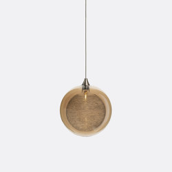 Kadur Drizzle 1 Amber Outer   Suspended lights   Shakuff