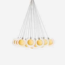 Kadur Drizzle 19 Bundle Gold Drizzle   Suspended lights   Shakuff
