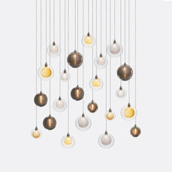 Kadur Drizzle 22 Mixed Colors   Suspended lights   Shakuff