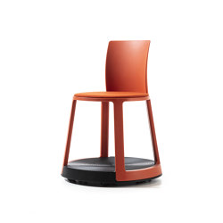 Revo | Chair with castor Base and Upholstery | Stühle | TOOU
