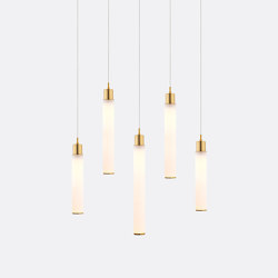 White Candle 5 | Suspended lights | Shakuff