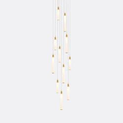 White Candle 11 | Suspended lights | Shakuff