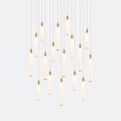 White Candle 17 | Suspended lights | Shakuff