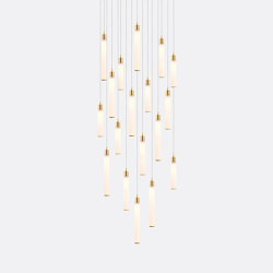 White Candle 18 | Suspended lights | Shakuff